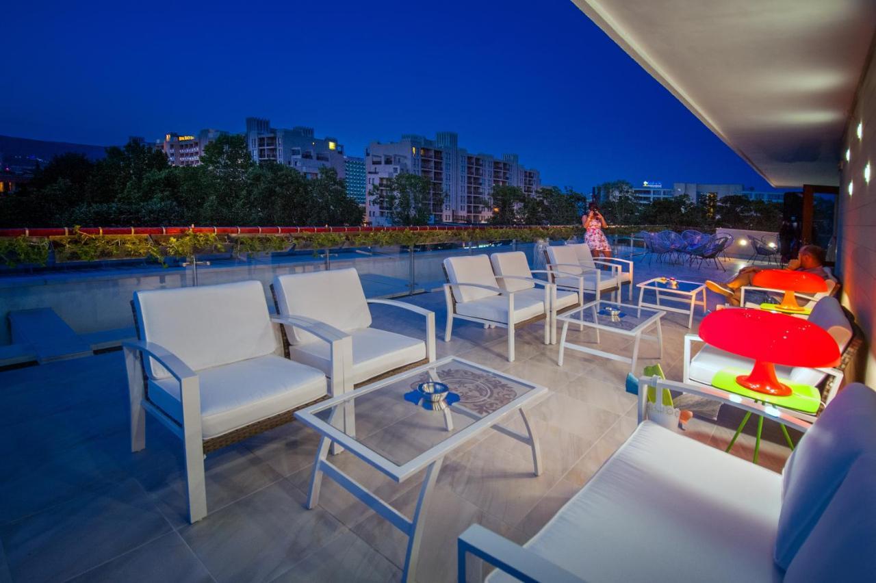 Патио или другая зона на открытом воздухе в Mercury Hotel-Premium All Inclusive