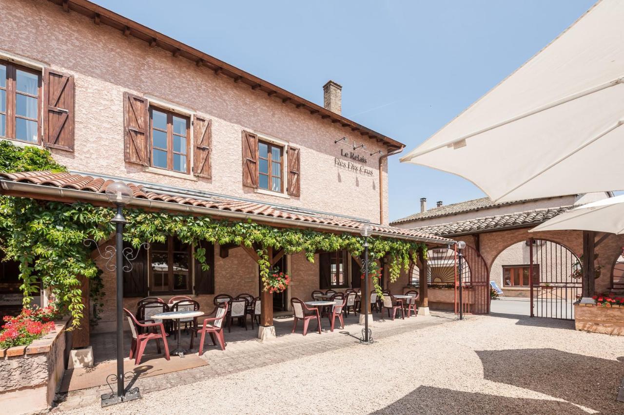 Отель  Logis Hotel Le Relais Des Dix Crus