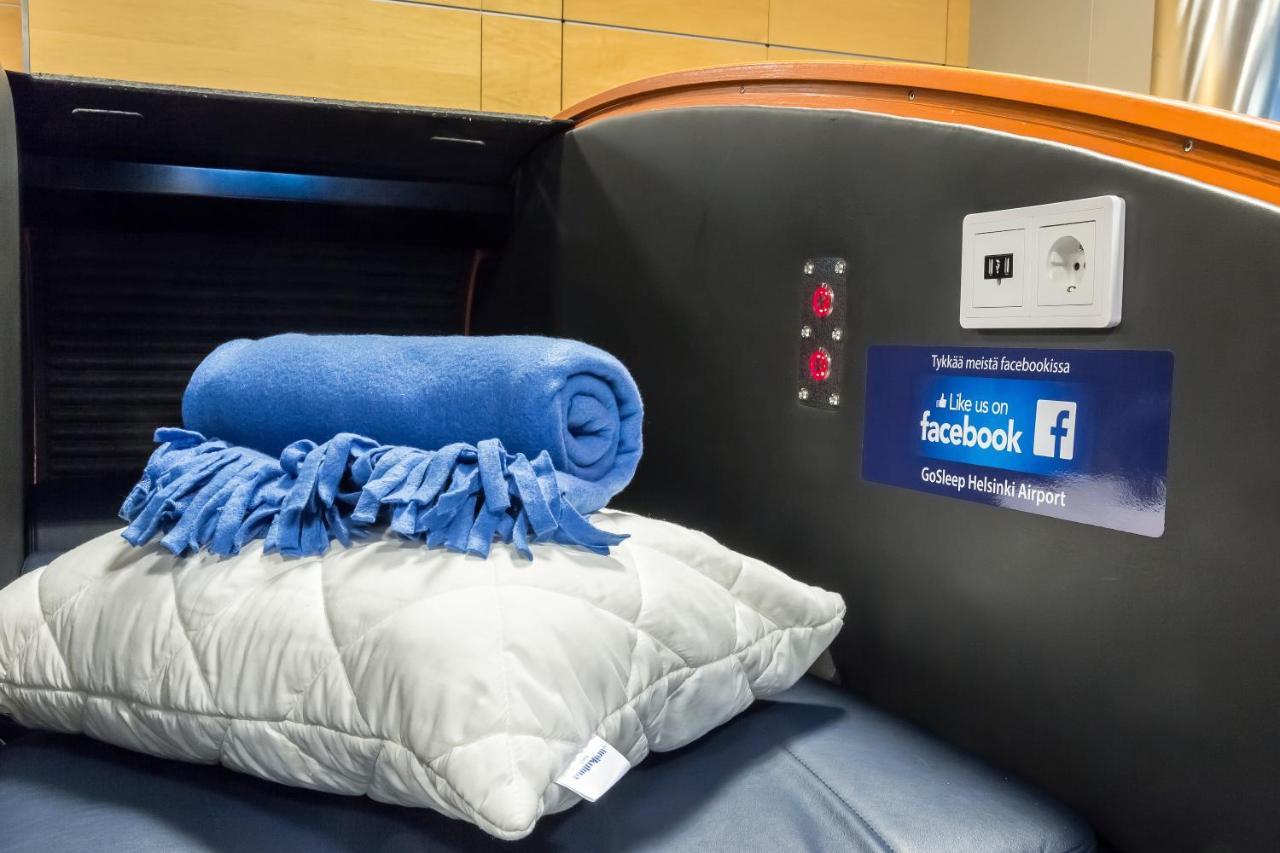 capsule hotel gosleep lounge vantaa