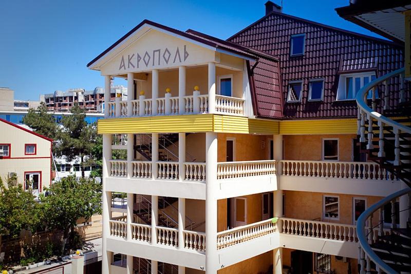 Отель  Отель Акрополь