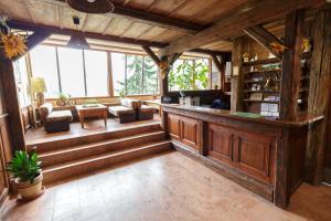 Vstupní hala nebo recepce v ubytování Hotel Ondras z Beskyd