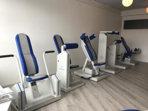 Fitnesscenter och/eller fitnessfaciliteter på Hotel Nukkumatti