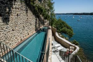 A view of the pool at Castelbrac Hotel & Spa or nearby