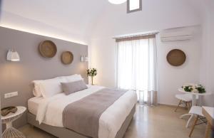Krevet ili kreveti u jedinici u okviru objekta Louis Studios Santorini