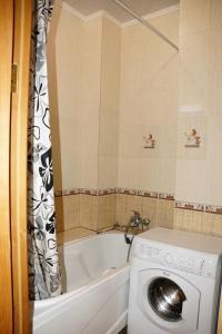 Ванная комната в Апартаменты Сочи Остров Мечты