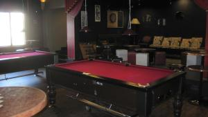 A pool table at Alexandra Hotel