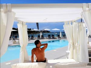 The swimming pool at or near AxelBeach Ibiza Suites Apartments Spa and Beach Club - Adults Only