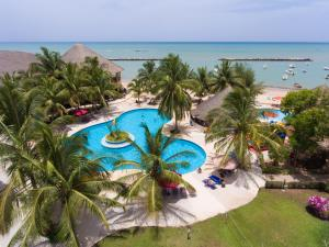 A view of the pool at Royal Saly or nearby