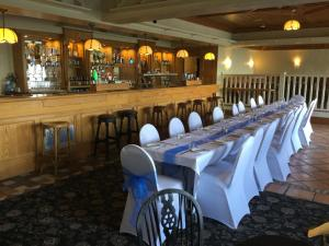 A restaurant or other place to eat at The Lanterns Hotel