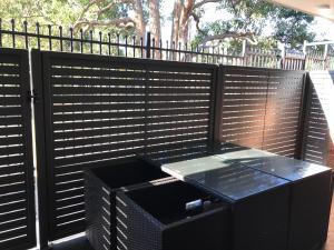 A balcony or terrace at Jesmond Executive Villas