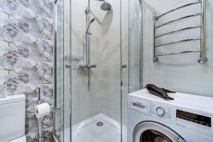 Ванная комната в STN Deluxe on Karavannaya 26