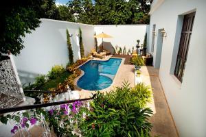 Vista de la piscina de Casa Azul Monumento Historico o alrededores