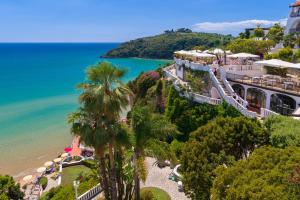 A bird's-eye view of Grand Hotel Le Rocce