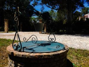 Πισίνα στο ή κοντά στο Antonia Beachfront Villa