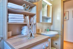 Kupaonica u objektu Apartment Ližnjan