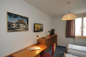 TV/Unterhaltungsangebot in der Unterkunft Hotel Chrüz