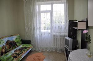 A seating area at Apartments at Leninskiy prospekt 11