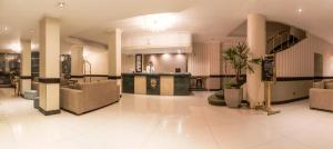 The lobby or reception area at Prince Hotel