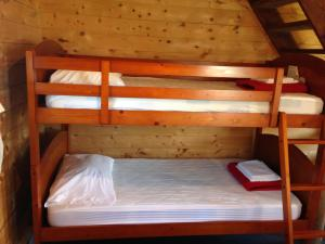 A bunk bed or bunk beds in a room at Salines de Gros-Cap