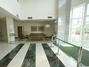 The lobby or reception area at Flat Setor Hoteleiro Norte