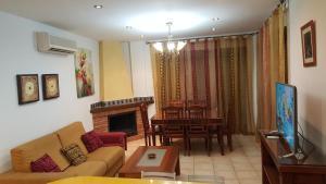 Zona de estar de Alojamiento Nohal