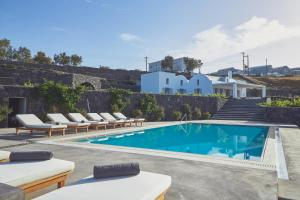 The swimming pool at or near Akrotiri Private Residence