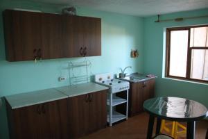 Кухня или мини-кухня в Guest House Elena