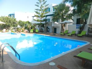 The swimming pool at or near Ioanna Apartments