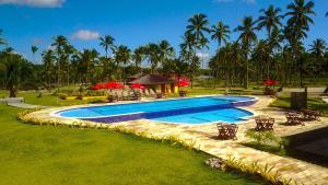 The swimming pool at or near Makaira Beach Resort