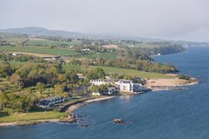 A bird's-eye view of Redcastle Hotel