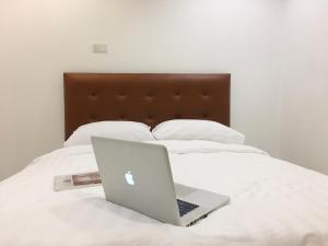 Un ou plusieurs lits dans un hébergement de l'établissement Boon Street Hostel