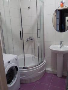 A bathroom at Apartment on Lenina 136