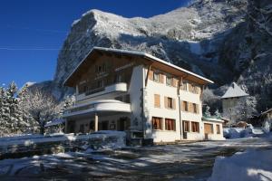 L'établissement Le Relais Du Mont Blanc en hiver