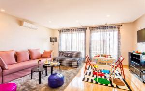 منطقة جلوس في Appartement Mogador CASABLANCA