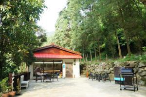 山田民宿餐廳或用餐的地方