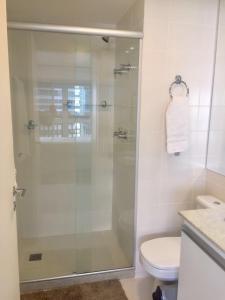 Um banheiro em Apart-Hotel Setor Hoteleiro Norte