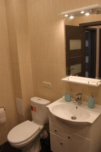 A bathroom at Apartments at Okruzhnaya 3