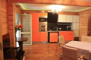 A kitchen or kitchenette at Holiday Home Novoorlovsky