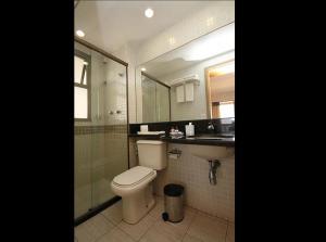 A bathroom at Room Office & Beach Apartments - Go Make A Trip