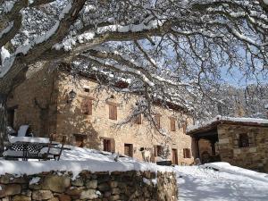 Posada Molino del Canto during the winter