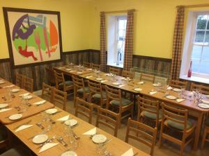 A restaurant or other place to eat at Jersey Accommodation and Activity Centre