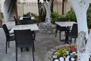 Restaurant ou autre lieu de restauration dans l'établissement Mystras Castle Town