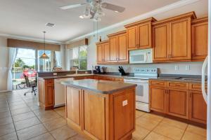 Küche/Küchenzeile in der Unterkunft Villa Rosegarden