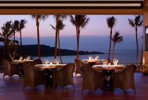 A restaurant or other place to eat at Four Seasons Resort Lana'i