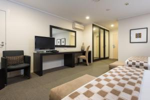 A television and/or entertainment center at Hotel on Devonport