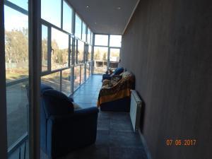 Un lugar para sentarse en Hotel El Recreo