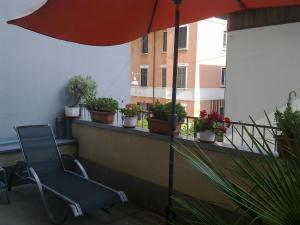 Balcone o terrazza di Hotel Susa