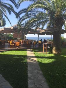 Сад в Hotel Filoxenia