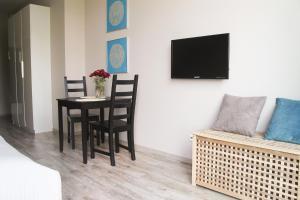Telewizja i/lub zestaw kina domowego w obiekcie Apart Studio Warszawa