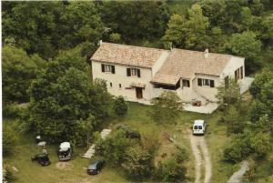 A bird's-eye view of Le Relais des Faïsses